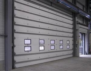 Srp2 fermetures fermetures du b timent pour - Porte de garage industrielle occasion ...
